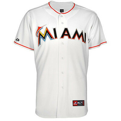 MLB Baseball Trikot/Jersey MIAMI MARLINS white Home von Majestic