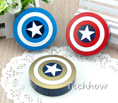 Shield Super Star Pocket Mini Contact Lens Case travel box high quality love it