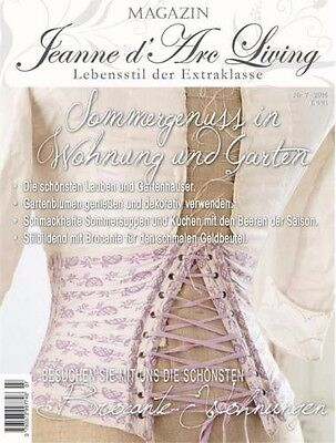 Jeanne d`arc living Magazin 07 Juli 16 Zeitschrift Brocante Shabby chic French