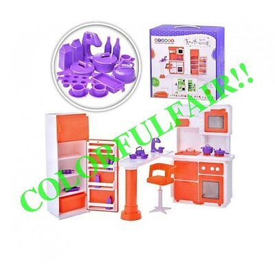 Furniture for Barbie dolls!! kitchen! furniture for kitchen!