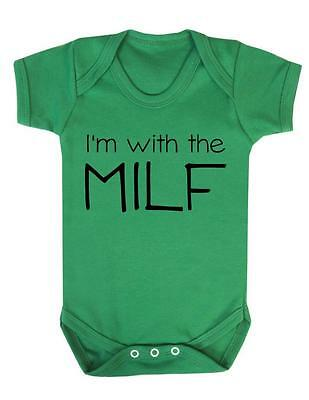 Boobaholic Funny cute Baby Grow Suit Vest gift present z1