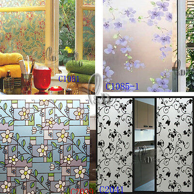 90cm x 3m Privacy Frosted Frosting Removable Glass Window Film AU SELLER C0002