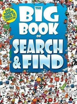 NEW The Big Book of : Search and Find Paperback Free Shipping