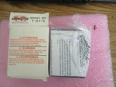 Linemaster Model: T-91-S Foot Pedal.  New Old Stock <