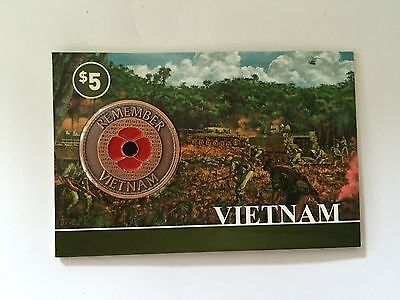 *NEW 2015** Vietnam 2015 Remember Penny Poppy *Remembrance Day* ANZAC Day