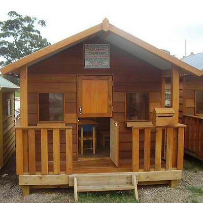 Cubby House The Luke Timber Play house