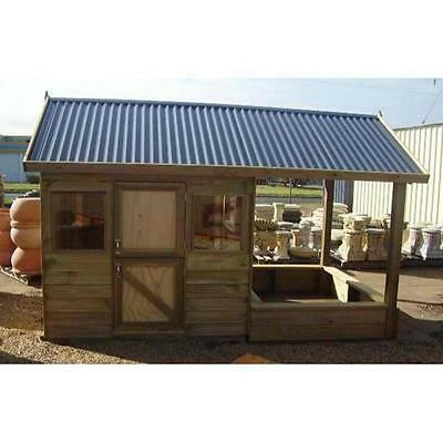 Cubby House The Sandcomber Timber Play house