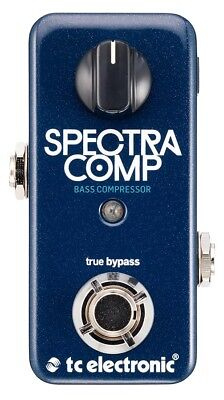 TC Electronic Spectra Comp Ultra-Compact Multiband Bass Compressor