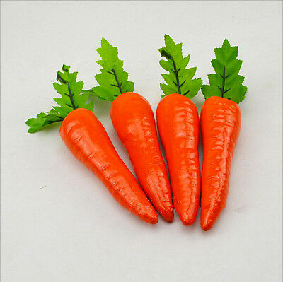 1pc Decoration Plastic Decorative Carrot Table Home New Food Vegetable