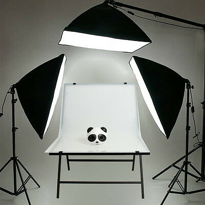 PRO. Photography Softbox Continuous Lighting Boom Set Shooting Table Display KIT