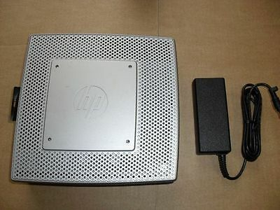Hp T5550 Thin Client + Psu ( H1M19At ) / Re-Furb ( 1Ghz / 2Gbr / 512Mbf/ Win Ce6
