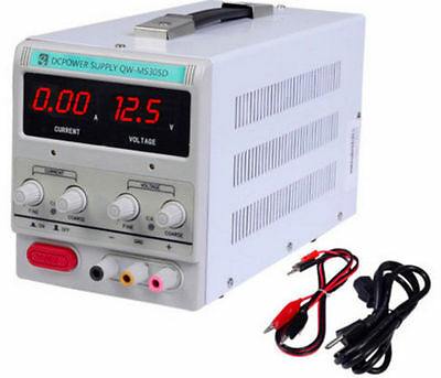 Adjustable DC Power Supply Precision Variable Digital Lab 0-5A 0 30V DC