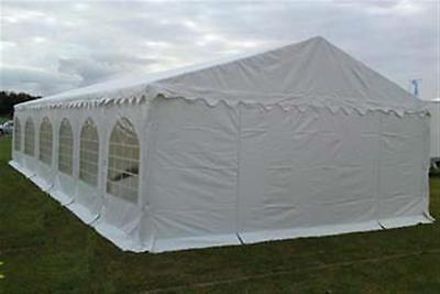 MARQUEE 650gsm 6m x 12m PVC HEAVY DUTY WEDDING PARTY TENT