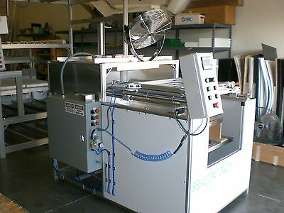 "Sibe Auto Vacuum Forming Machine 24"" X 24"" Top Bottom Heater Plc Automatic"