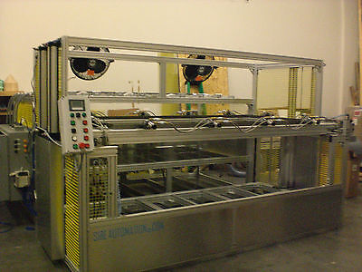 "Vacuum Forming Machine 48"" X 96"" Top And Bottom Infrared Heater Plc Control Auto"