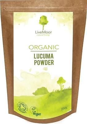 LiveMoor Organic Lucuma Powder - 250g - Sale Price