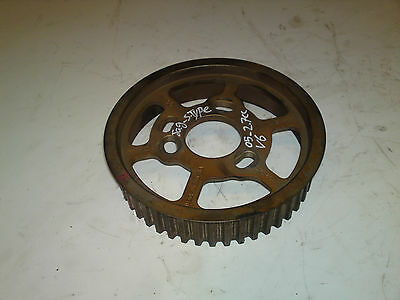 JAGUAR S-TYPE 06 2.7td passenger side left near EXHAUST CAMSHAFT PULLEY SPROCKET