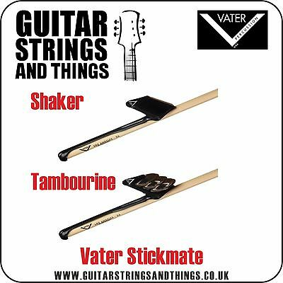 Vater Stickmate Tambourine or Shaker  - slides on your Drumstick - Percussion