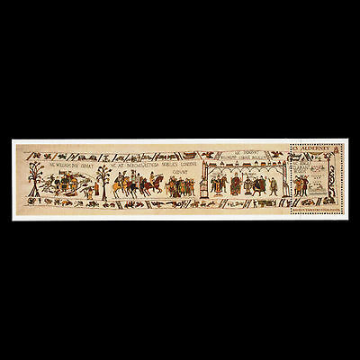 Alderney 2014 - Final Panel of the Bayeux Tapestry Art Traditions - MNH