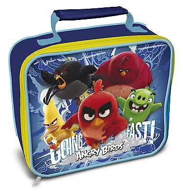 Angry Birds Movie | Red | Green Pigs | Going Fast | Insulated Lunch | School Bag