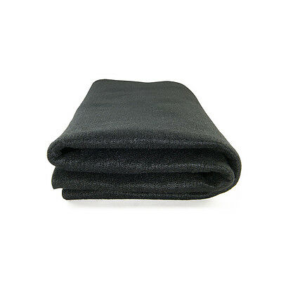 High Temp Felt Welding Blanket: 6' X 4', Black