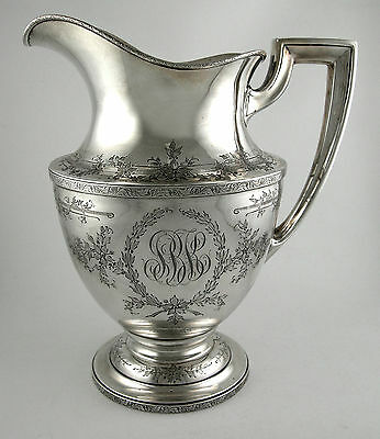 Sterling Water pitcher