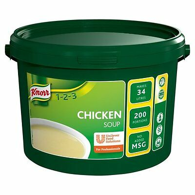 Knorr 1-2-3 Soup – Chicken – 2kg 200 Portions Catering
