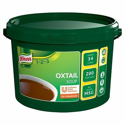Knorr 1-2-3 Soup – Oxtail – 2kg 200 Portions Catering