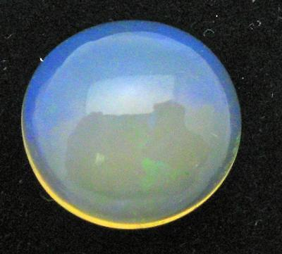 BARGAIN ETHIOPIAN OPAL - 2.04 CTS - 11mm ROUND ---- SUPER CLEAN ---LOTS OF LIFE