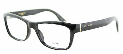 58defe406ae Authentic Givenchy GV 0003 D28 Black Plastic Rectangle Eyeglasses 52mm