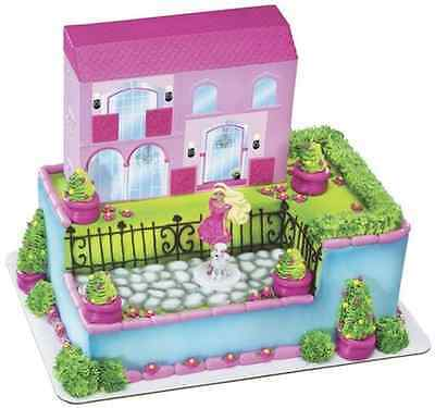 New Barbie Dream House Party Signature Cake Kit (1)