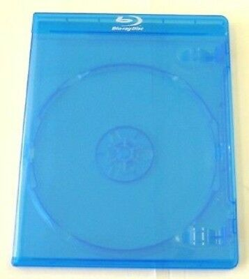 100 12mm BLU-RAY HIGH QUALITY DVD CASES w PRINTED LOGO BL8