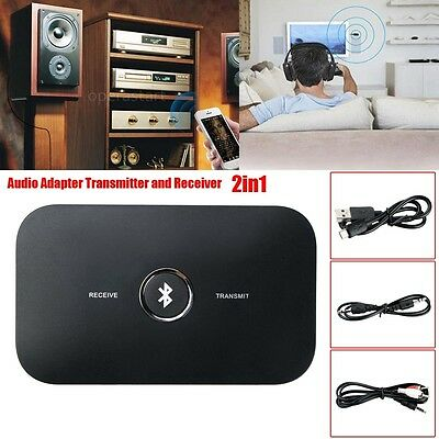 Wireless Bluetooth Stereo Music Audio Adapter Transmitter and Receiver 2in1 Tool