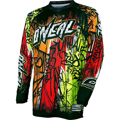 2017 O'Neal Vandal Motocross MX Dirtbike MTB BMX Off-Road Riding Gear Jersey