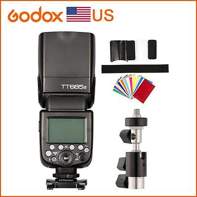 Godox TT685S For Sony DSLR A6300 A99 A58 6000L 2.4G HSS TTL GN60 Camera Flashes
