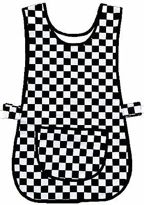 tabard tabbard apron kitchen catering plus size 8 10 12 14 16 18 20 22 24 26