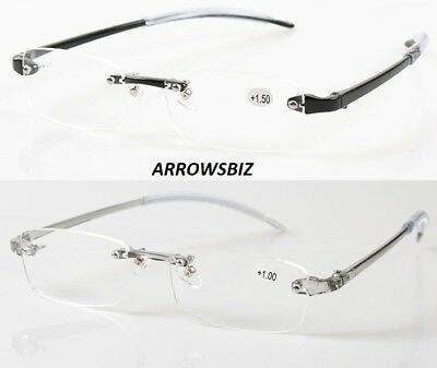 Value Rimless Ultralight Reading Glasses +1.0 +1.5 +2.0 +2.5 +3.0 +3.5 +4.0