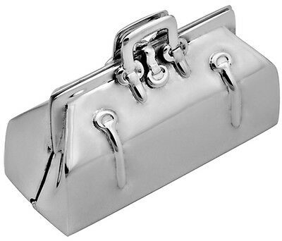 Doctor's Bag Pillbox 925 Sterling Silver Hallmarked New From Ari D Norman