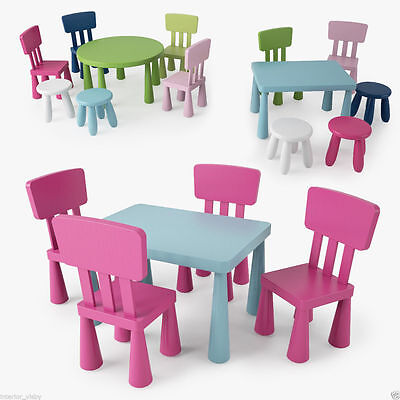 Mammut Children's Chairs,Tables & Stools  in/outdoor In Different Colours