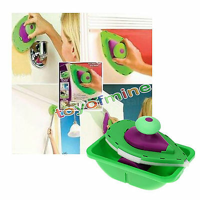 Wall Decorating System Set Kit Painting Brush Point Pad Paint Roller Tray Tool