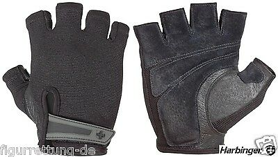 Fitness - Harbinger Power Gloves Trainingshandschuhe - Bodybuilding Handschuhe