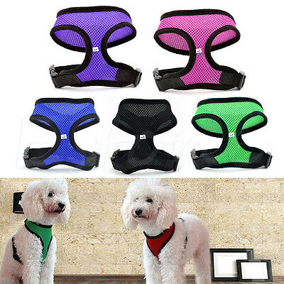 Pet Control Harness for Dog Puppy Cat Walk Soft Collar Safety Strap Mesh Vest