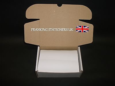 500 x Ascom Hasler double adhesive franking labels (100 x 149mm)