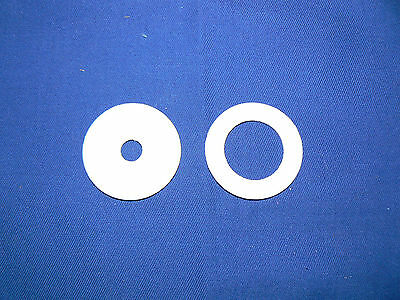 PTFE Washers 1mm ranging from 8mm - 40mm