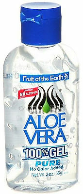 Fruit Of The Earth Aloe Vera 100% Gel Pure 56G- No Colour Added, No Alcohol