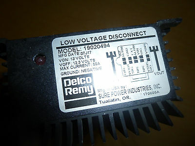 01 LOW VOLTAGE Disconnect Delco Remy Freightliner Century Class 19020494  FR/SH