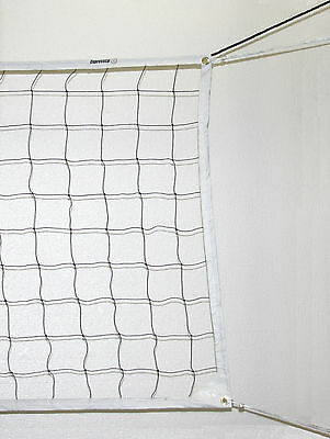 NEW VOLLEYBALL NET BEACH INDOOR OUTDOOR PE Rope Cable Official Size USA Seller