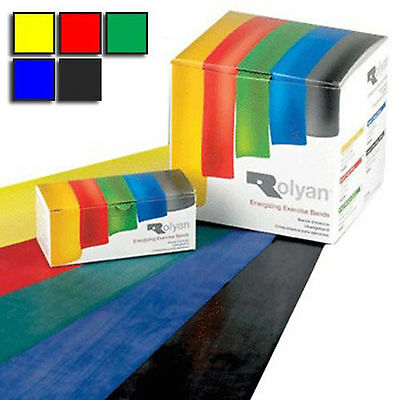 Rolyan resistance bands. NHS. Exercise pilates yoga physiotherapy Exercise