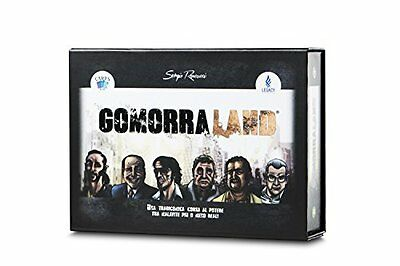 GOMORRALAND Gioco da Tavolo Italiano di Carte Gomorra Mafia Cards Co
