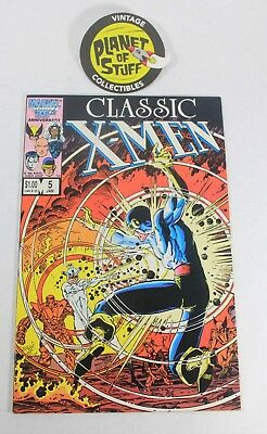 Marvel Classic X-Men January 1987 #5 Comic Book